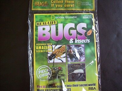 National Geographic Real-life Bugs & Insects magazine Issue 71