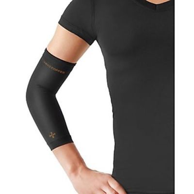 Tommie Copper Women's Vitality Elbow Sleeve Small Black