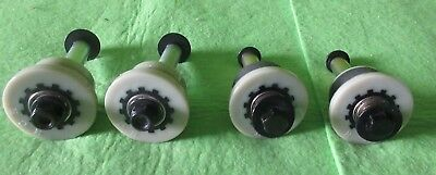 4 TOTAL GYM Roller wheels Total gym 1700 club . Complete Assembly
