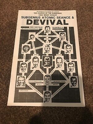 Church Of The Subgenius 1985 West Coast Atomic Seance & Devival Program