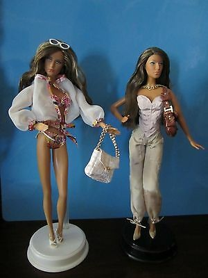 "Lot Of 2 Model Of The Moment Dolls--Marisa: ""pretty Young Thing"" & ""beach Baby"""