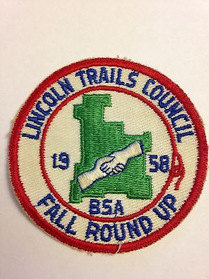 BSA Lincoln Trails Council - 1958 Fall Round Up