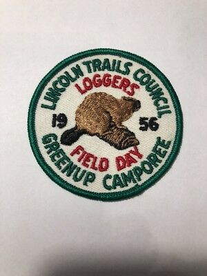 BSA: Vintage Lincoln Trails Council - 1956 Greenup Camporee - Loggers Field Day