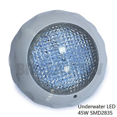45W Swimming Pool Light Underwater SPA SMD 2835 LED 7 Colours RGB Remote Control