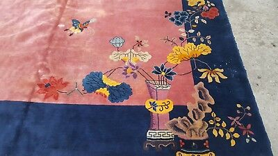 Beautiful Vintage Chinese Art Deco Rug c. 1920