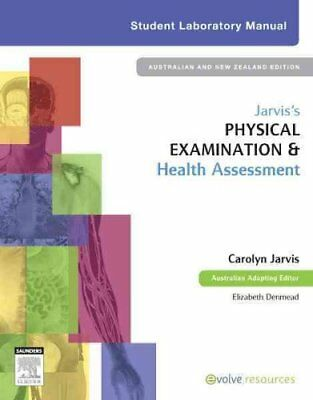 Jarvis's Physical Examination and Health Assessment Student Lab... 9780729539746