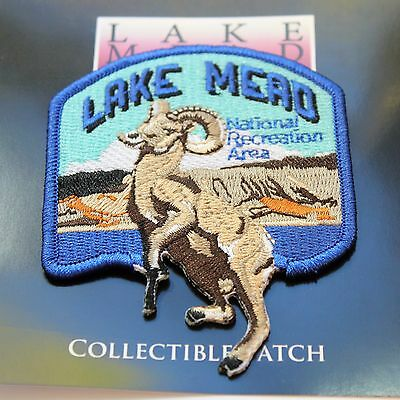 Official Lake Mead National Recreation Area Souvenir Patch Arizona Nevada Park