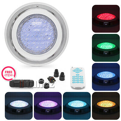 LED Swimming Pool Light Underwater SPA 15W IP68 RGB 7 Colours with Remote P-1A