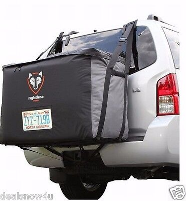 Waterproof Rear Car Carrier Cargo Saddlebag Vehicle Load 13 Cubic Ft SUV Minivan