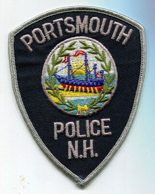 Portsmouth New Hampshire Police Patch // FREE US Shipping!