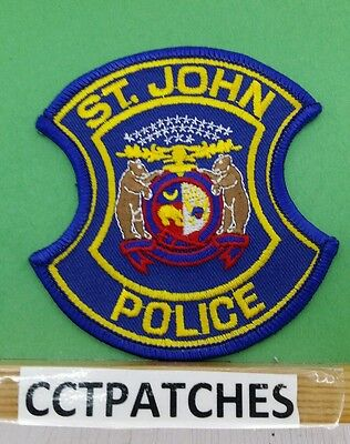St John, Missouri Police Shoulder Patch Mo