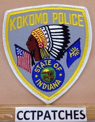 Kokomo, Indiana Police Indian Shoulder Patch In