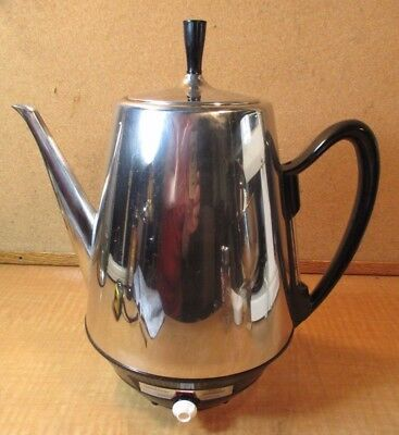Vtg. SUNBEAM AP-CE CoffeeMaster PERCOLATER 12 Cup Fully Automatic Strength Dial