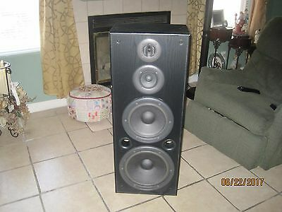 Vintage Technics SB-A38 3 Way Speaker System Speaker 260W (Music) 130W (Din).
