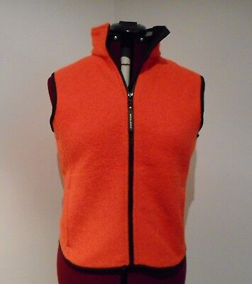 Woolrich  Women's Wool Blend Vest Pit Size 19 inches Full Zip