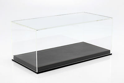 Quality Display Cabinet with Floor Plate Leather for Model Cars on a Scale of 1: