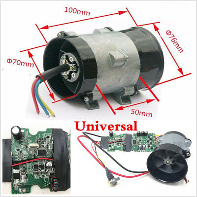 Universal 12V 16.5A Car Electric Turbo charger Boost Air Intake Fan Bold Lines