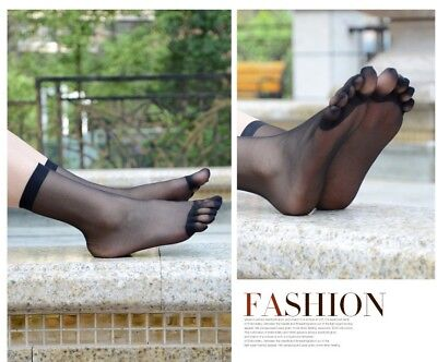 7aa428d448f29 Sheer 5 Toe Glove stockings-single toes nylons separate five toes hose DCY  Socks
