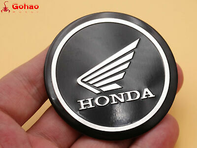 5.5cm 3D Tank Faring Round Badge Emblem Decal Sticker for Honda Wing Racing Moto