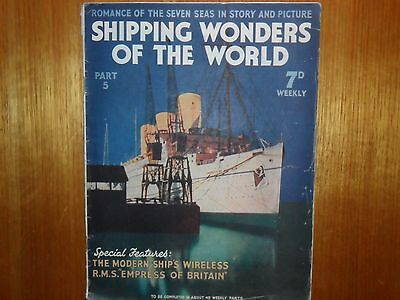 Shipping wonders of the world