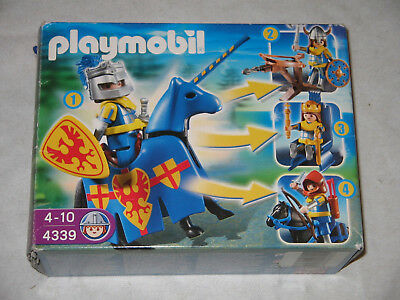 playmobil 4339 MultiSet Ritter + OVP + Anleitung ~ Knights