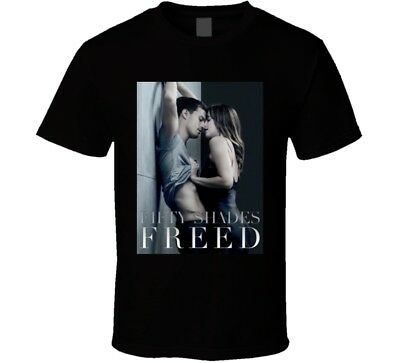 The Movie 2018 Fifty Shades Freed Poster T Shirt