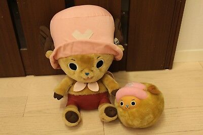 One Piece Tony Chopper Plush doll set BIG Banpresto Plex