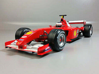 1:18 HOT WHEELS Ferrari F2001 F1 #2 World Champion *Rubens Barrichello*