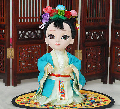 6'' Mini Q Version Figurine Asian Chinese DollLegend of Mi Yue Character-Mi Yin