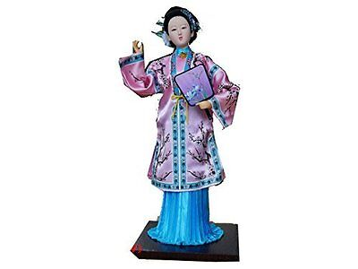 """Ancient Chinese Asian Doll Famous Novelty """"A Dream of Red Chamber"""" -Li Wan"""