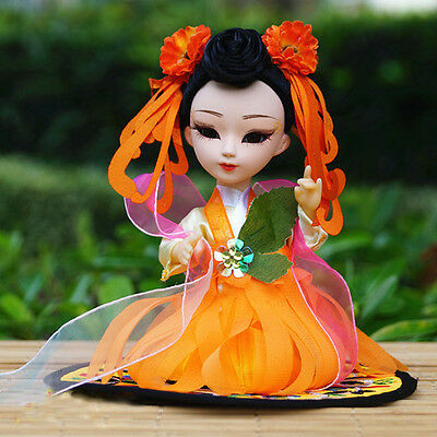 6'' Mini Q Version Figurine Chinese Asian Doll Fairy Tale Angel Beauty Girl