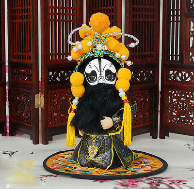 6'' Mini Q Version Chinese Peking Opera Doll Farewell to My Concubine Chu King