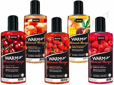 Massageöl WARMup 150ml (11,30€/100ml) Wärmend Kirsch Erdbeer Erotik Massage Oral