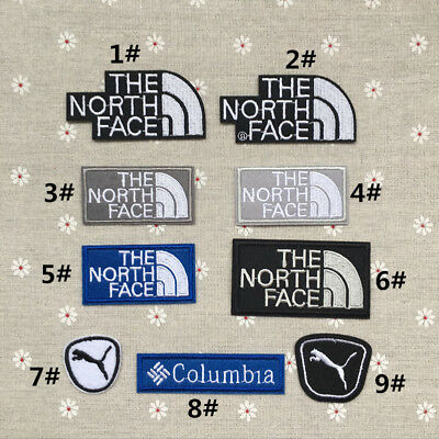 North Sports Embroidered Iron Sew On Patch Badge Transfer Biker Jacket Hat Bag