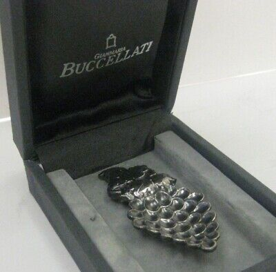 Italian Buccellati 925 Sterling Silver Handcrafted Grape Collector Piece #Bcl-25