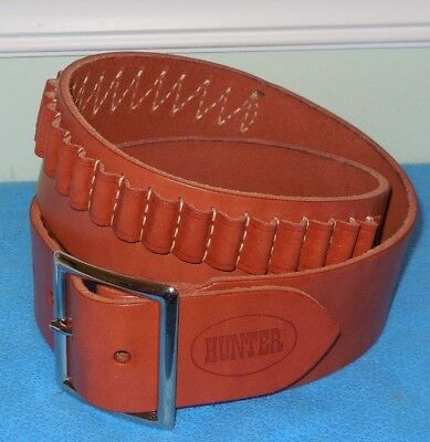 Hunter Straight Cartridge Belt,  22 Cal, Small, Style M122-000-10180 Free Ship