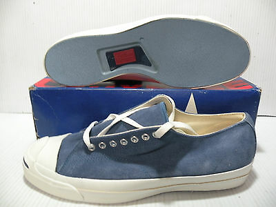 bce14f9d0067 Converse Jack Purcell Suede Vintage Made In Usa Men Shoes Size 13 Blue  A4253 New