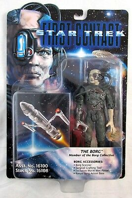 1996 Star Trek First Contact THE BORG Playmates Toy Action Figure MOC NIP!!