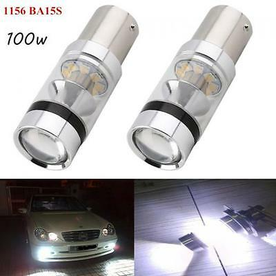 2pcs CREE XBD 100W 1156 S25 P21W BA15S LED Backup Light Car Reverse Bulb Lamp