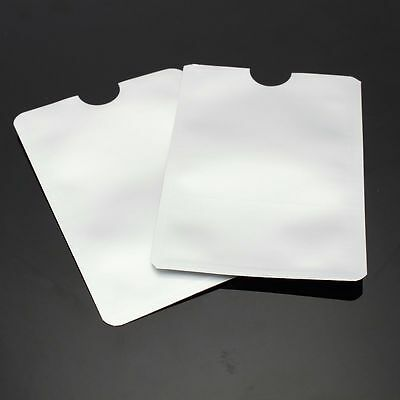 3 Pcs ID or Credit Card Holder  RFID Protector Secure Sleeves Case