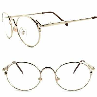 46fd0db71b Classic Genuine Vintage Rx-Able Prescription Mens Womens Gold Eye Glasses  Frames