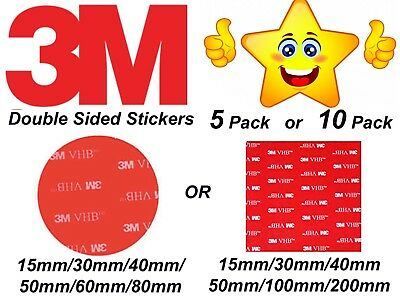 Self Adhesive Double Sided Sticky Pads StickersMounts Strong Heavy Duty