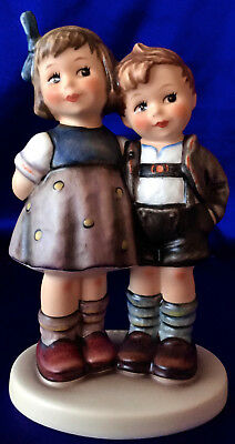 "Goebel M I Hummel ""the Little Pair"" ""ex Ed"" Figurine, Hum 449, Tmk 6, Hbv* $400"