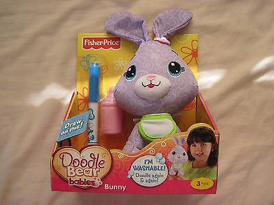Fisher-Price Doodle Bear Pets - Bunny..New In The Box!!!!