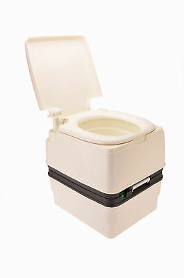 OZtrail Piston Pump Royale Portable Toilet  21L Camping Travel Outdoors