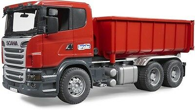 Bruder Scania R-Serie LKW mit Abrollcontainer 03522 (1:16 Scale) Neu & Ovp
