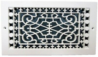Home Hvac Parts Accessories 10 In X 8 In White Louvered