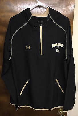 RARE! TEAM-ISSUE WAKE FOREST BASKETBALL JACKET by Under Armour Size Large (L)