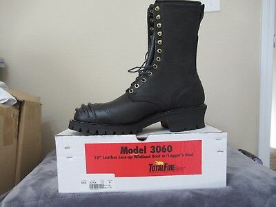 """NIB Total Fire Group Firefighter Boots 10"""" Leather Wildland Boot Men's Size 13"""