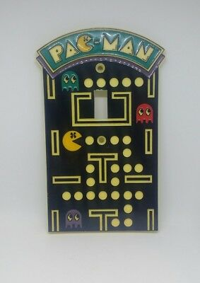 Pac-Man Vintage 1980s  Lightswitch Cover Plate 1980  Bally Midway